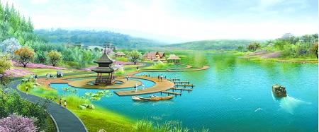 优美的公园风景图片