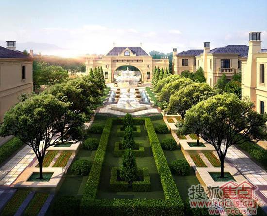 私家园林:皇家园林中轴对称仪式之感