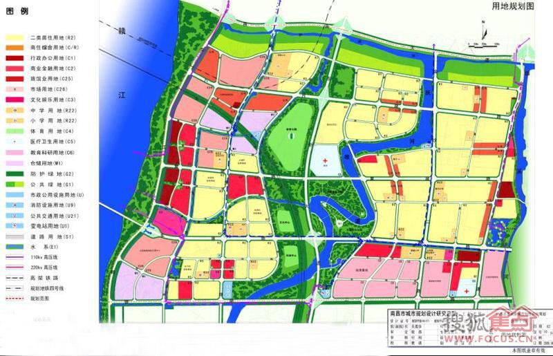 朝阳新城用地规划示意图-中海朝阳郡 中海地产朝阳新城开篇之作