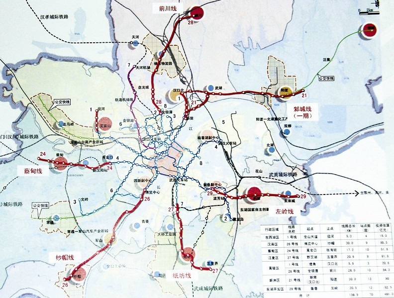 武汉市主城区人口_武汉市城市总体规划图(2005—2020)-武汉城市规划与房地产发