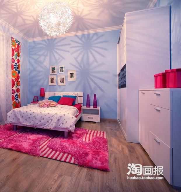背景墙 床 房间 家居 家具 设计 卧室 卧室装修 现代 装修 620_658