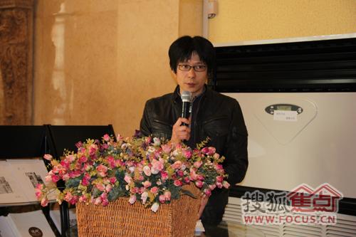 上海翰联建筑设计院设计师黎宁先生发言