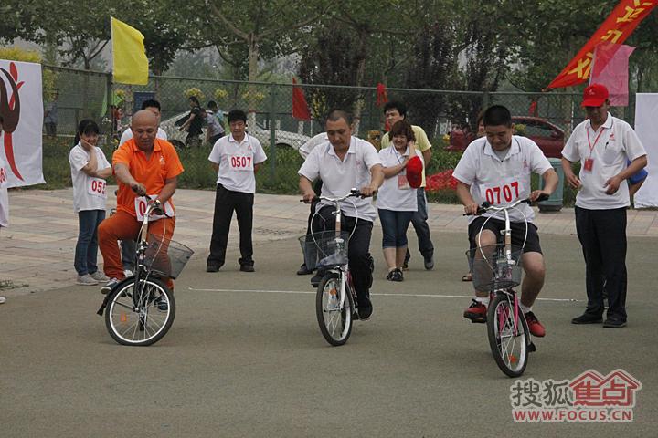 慢骑自行车比赛
