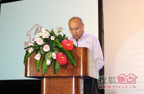 青岛报业传媒集团副总经理陶进发言