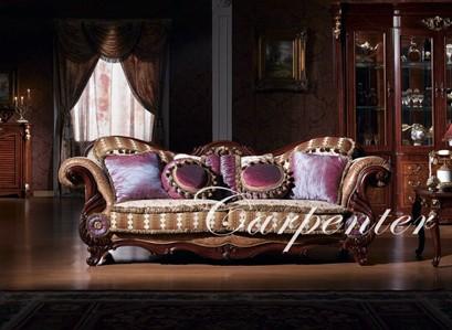 欧式复古风的卡芬达,醇厚典雅的色泽所呈现的是一种高雅奢华的家居图片