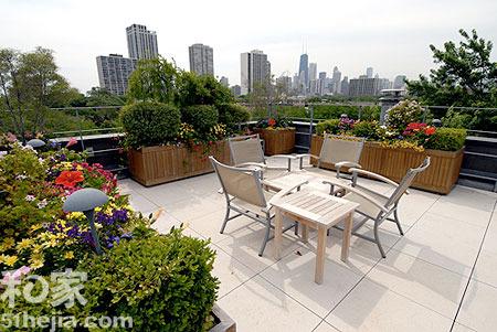 坐享空中花园 11个花园型露台设计(组图)图片