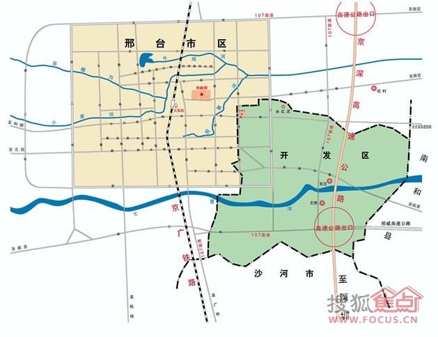 邢台经济开发区规划图