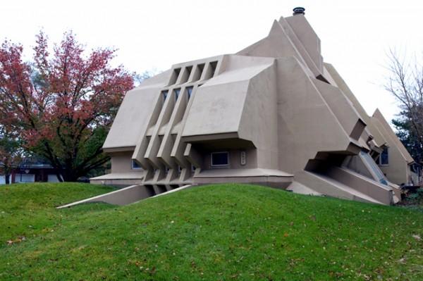 盘点世界上造型最奇形怪状的房子