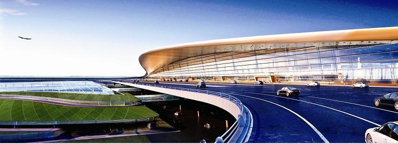 图为:T3航站楼外观效果图-图文 天河机场三期扩建工程获批 四年内建