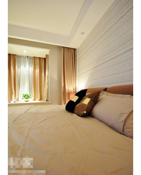 15万装修88平米两室两厅 时尚简约家 高清图片