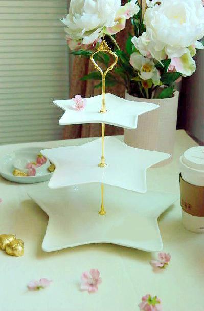 小资下午茶 9款可爱点心盘享受家居生活(图)