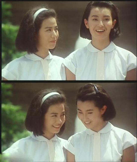 钟楚红张曼玉80年代小清新造型清纯迷人