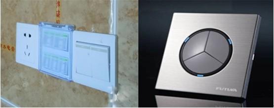 能保证接线的准确,从而保护家电的安全用电;而劣质开关一般用铁制螺丝