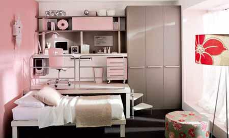 创意家居组合床 蜗居小户型装修的完美方案图片