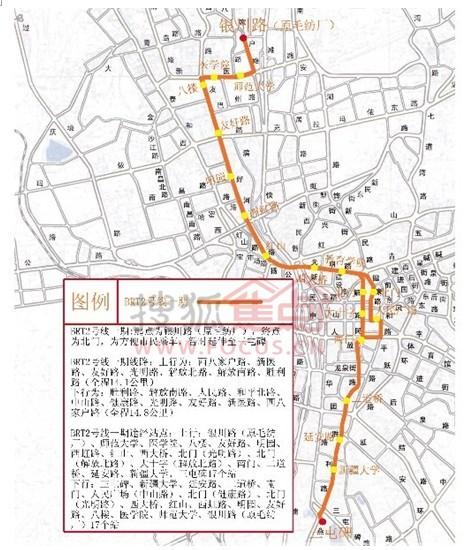 乌鲁木齐加强交通建设 聚焦BRT 田 字路沿线楼盘图片