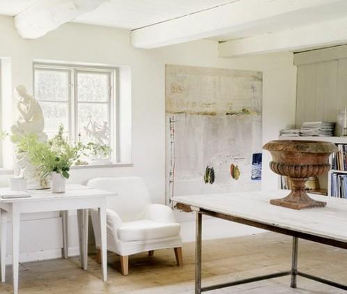 旧家具也有春天 北欧复古风格通透公寓图片