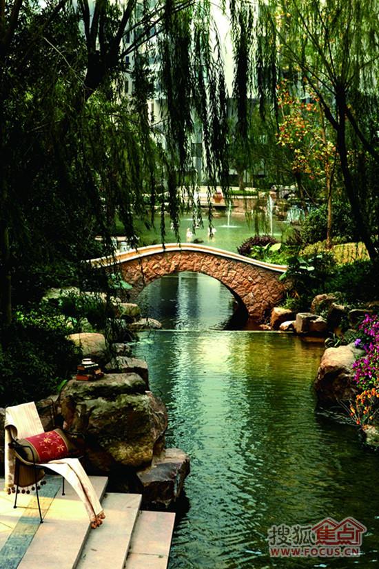 别墅级园林