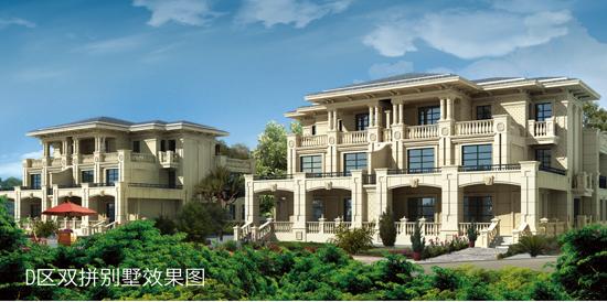 6层双拼别墅设计图