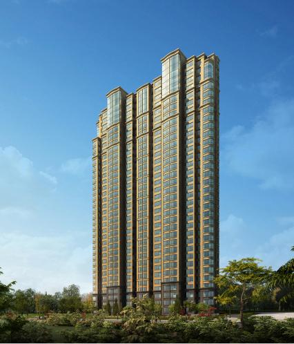 塞纳公馆长风cbd地标建筑 演绎法式新古典主义建筑风韵图片