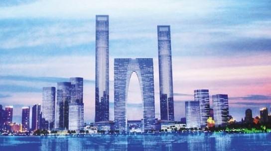 """中南集团进军苏州金鸡湖cbd 打造""""地标建筑"""""""