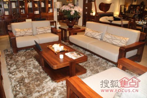 家具榜样:北美胡桃风情 柏森乌金系列新款沙发图片