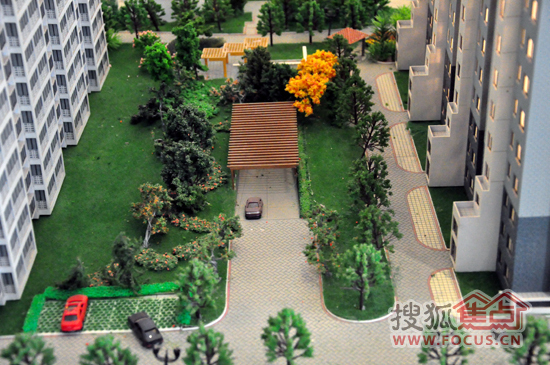 看房日记(28)新中式园林景观大宅高速仁和盛庭图片
