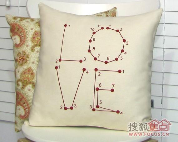 家居趣味抱枕 送给自己情人节的礼物