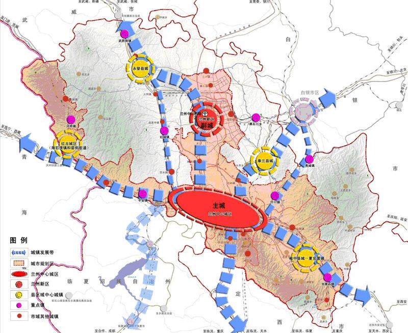 兰州新区升级国家级 图解新区发展新面貌图片