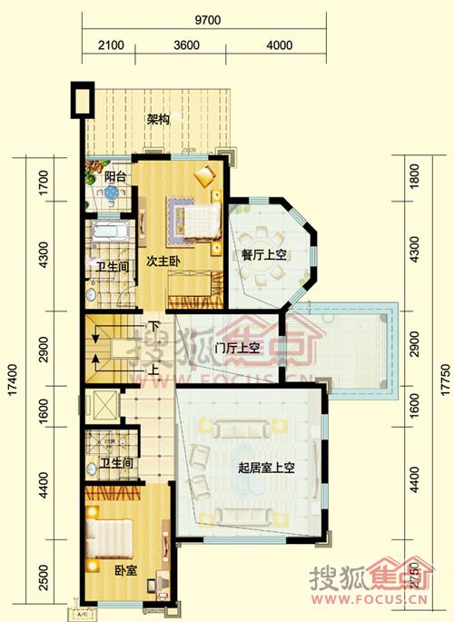 承德二楼别墅设计图