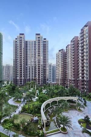 城国际花园成熟园林俯视图-王座8栋谁与争锋 星城国际楼王盛大认筹