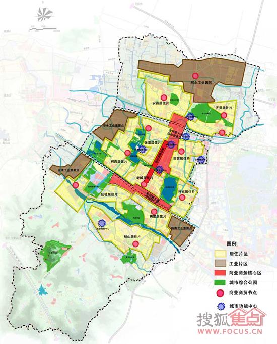 新乡2030年城市规划图片大全