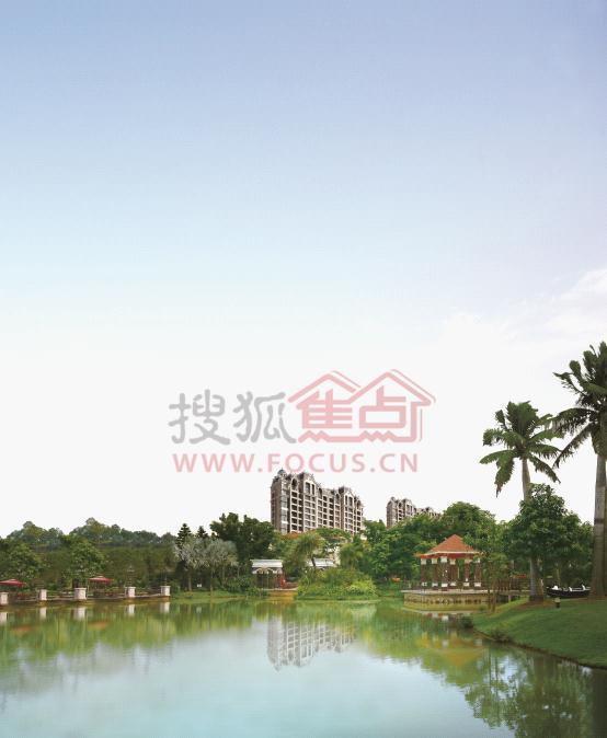 碧桂园豪园四期千鹤湖示范区9月22日盛装开放