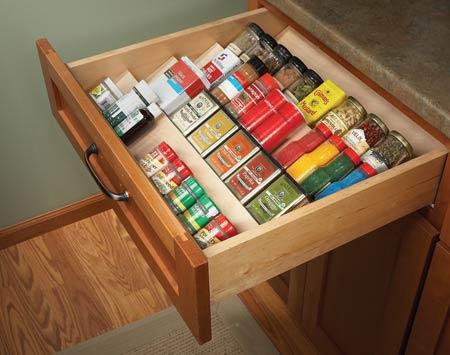 15种创意厨房橱柜diy改造计划(图)