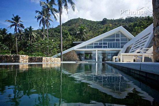 金字塔屋顶超环保 泰国度假别墅唯美设计-新闻中心