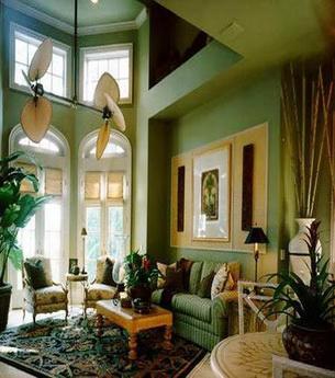 时尚客厅装修效果 欧式风格搭配(组图)