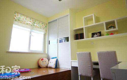 12万打造90平米两居室温馨风格装修(组图) 5.