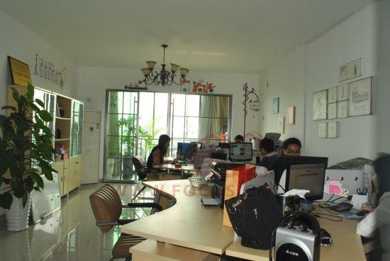 嘉合地产温馨的办公环境