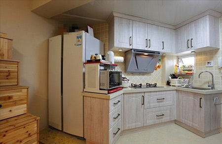 小房间大用途 50平精致小户型装修设计高清图片