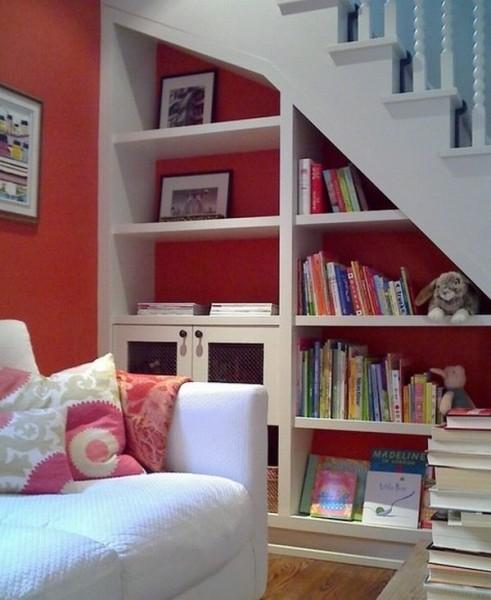 40款创意楼梯存储空间设计