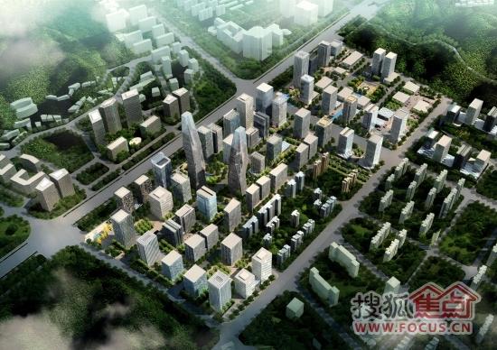 汉峪片区规划图