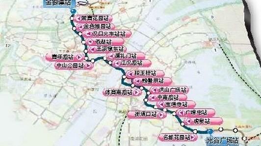 武汉地铁2号线开通倒计时 360 无死角全揭秘图片