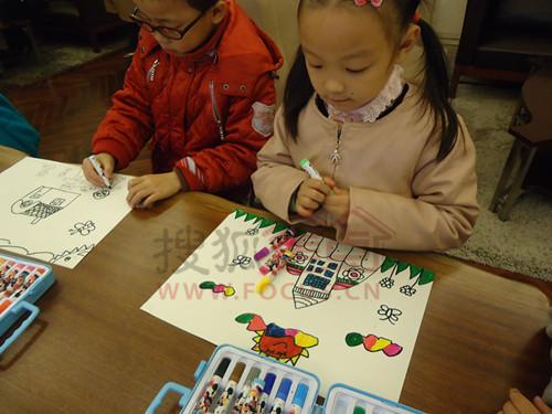 万科城小小绘画班儿童绘画大赛 放飞纯真梦想