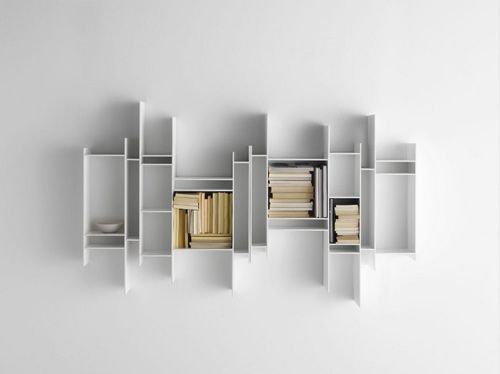 """立体墙壁收纳 """"凸""""显出时尚创意的家居之美"""