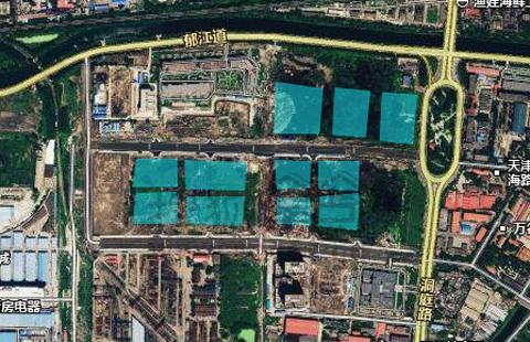 天津中心城区24块招商热土 地图及详细信息一览图片