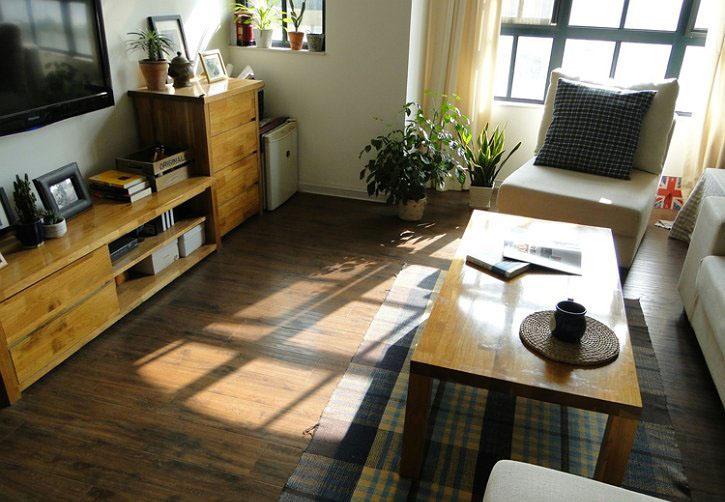 diy北欧田园风的家居设计原木质朴小窝--组图