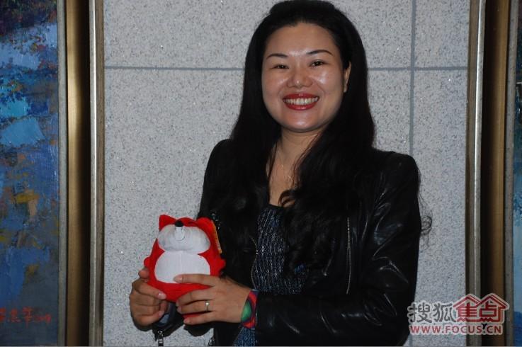 冠珠陶瓷唐小梅 广佛销售业绩破2亿 相信明年有突破