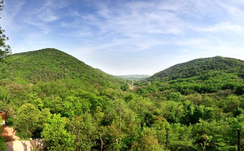 老山国家森林公园实景