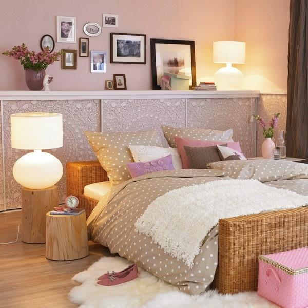 打造完美空间 43款床头置物架点缀你的卧室图片