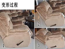 布艺功能沙发:超舒适