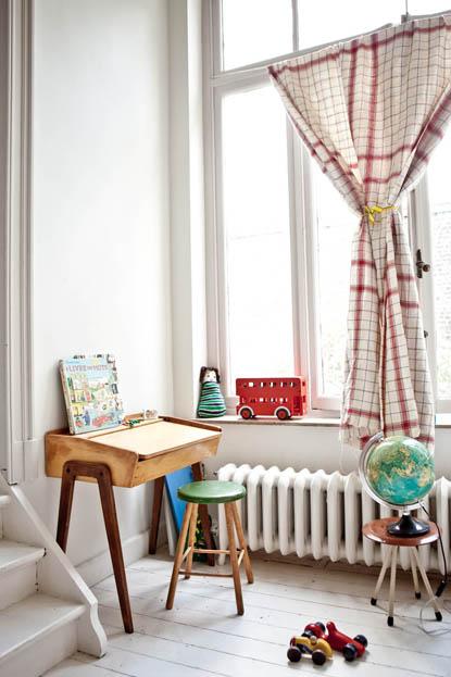 位于英国的家 华丽简单又低调可爱的家--组图